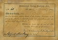 Certificate of appointment of S. Caro, March 7, 1864.jpg