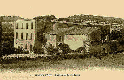Château féodal de Buoux