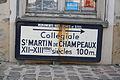 Champeaux Saint-Martin Schild 17.JPG