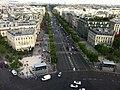 Champs-Élysées from the Arc de Triomphe, Paris 19 July 2013 - panoramio.jpg