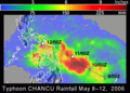 Chanchu 2006-05-08 - 2006-05-12 rainfall.png