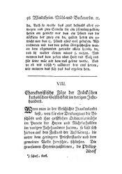 Charakteristische Züge der Fränkischen katholischen Geistlichkeit im vorigen Jahrhundert, S. 98-104