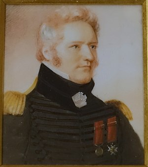 Charles de Salaberry - Lieutenant Colonel Charles-Michel d'Irumberry de Salaberry in 1825 by Anson Dickinson
