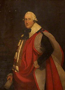Charles Dillon, 12th Viscount Dillon in parliamentary robes