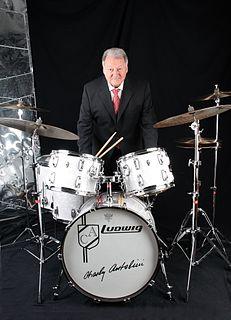 Charly Antolini Swiss jazz drummer