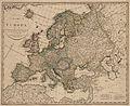 Charte von Europa nach den neuesten astronomichen Bestimmungen und dem jetzigen bestande der staaten entworfen von - no-nb krt 01011.jpg