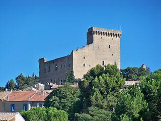 Castle of Châteauneuf-du-Pape castle in france
