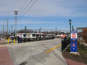 Cheltenham Avenue - Cheltenham-Ogontz Bus Loop, a major SEPTA bus terminal