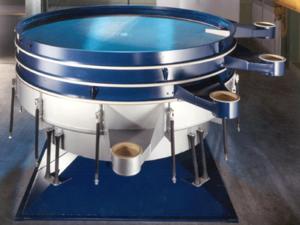 Mechanical screening - Chemical Tumbler Screener