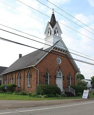 Canton, Michigan - Image: Cherry Hill United Methodist Church Canton Twp. Michigan