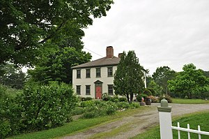 National Register of Historic Places listings in Washington County, Maine - Image: Cherryfield ME Adams House