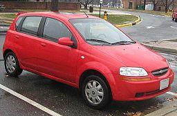 Chevrolet Aveo LT hatch