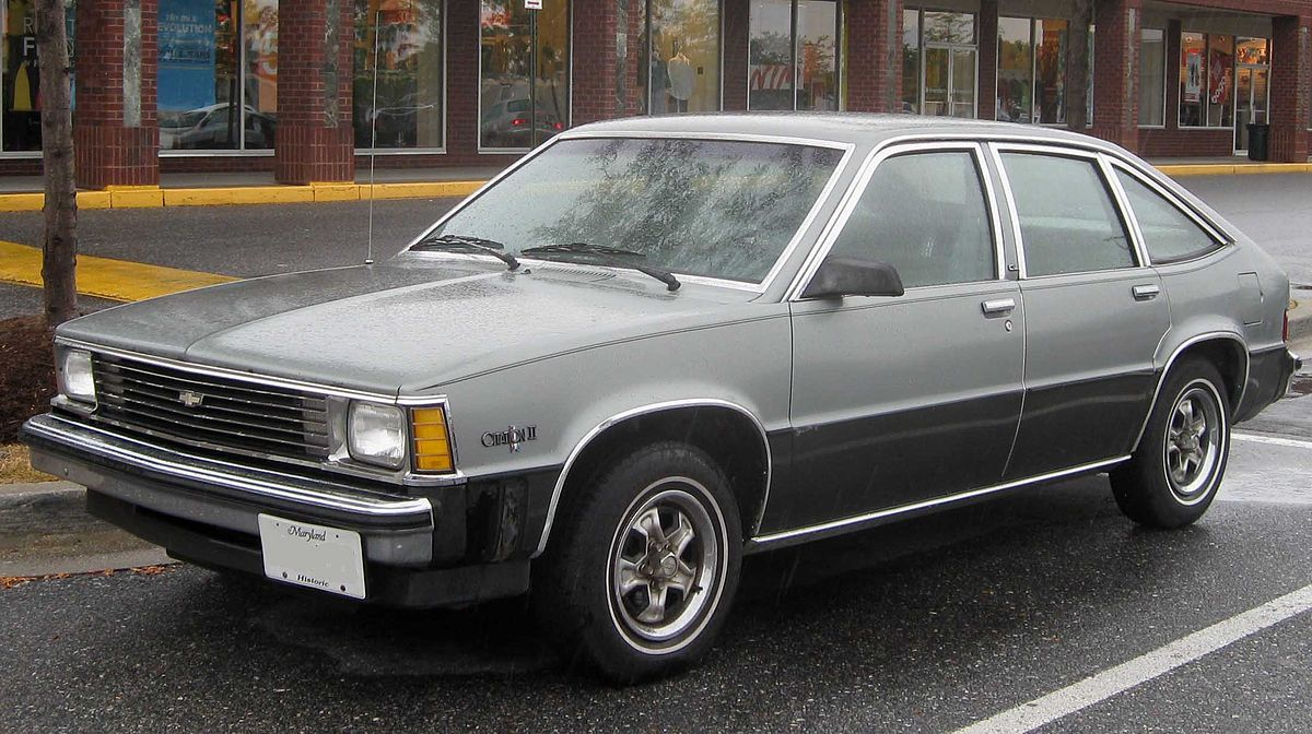 Chevrolet Citation Wikipedia 84 Vw Rabbit Fuse Box Power