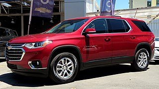 Chevrolet Traverse seven or eight seat, full-size crossover SUV