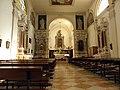 Chiesa della Natività della Beata Vergine Maria, interno (Schiavonia, Este) 01.jpg