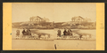 Children in goat cart on beach, from Robert N. Dennis collection of stereoscopic views 9.png