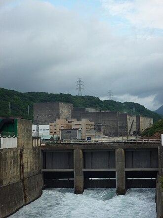 Nuclear power in Taiwan - Jinshan Nuclear Power Plant in Shimen, New Taipei.