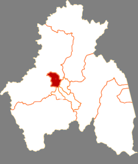 Aimin District District in Heilongjiang, Peoples Republic of China