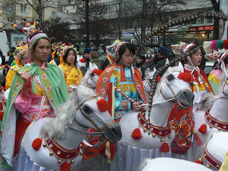 Chinese New Year in Paris, France. (21 February 2010, 14:57)