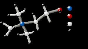 Choline - Image: Choline Molecule