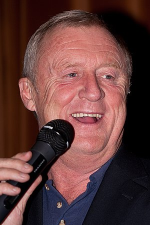 Television presenter - Chris Tarrant is a British radio and television presenter.