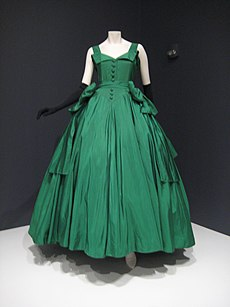Typical christian dior evening gown date unknown but circa 1950