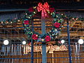 Christmas wreath Tiger's Village 2015, Wild Adventures.JPG