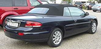 Chrysler Sebring Limited cabriolet (Europe) Chrysler Sebring Cabriolet Limited rear.jpg