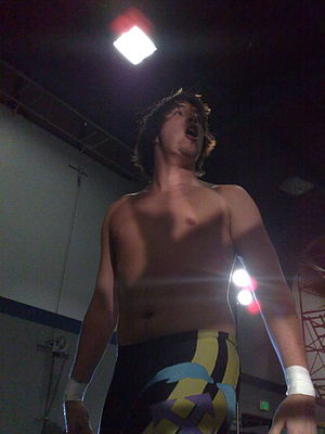 Chuck Taylor (wrestler) - The Kentucky Gentleman at PWG's Battle of Los Angeles show in 2008