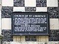 Church Notice - geograph.org.uk - 534280.jpg