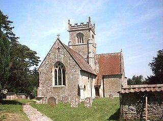 Berwick St John village in the United Kingdom