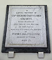 Church of St Andrew, Willingale, Essex, England - interior Colnett wall monument.JPG