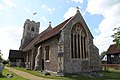 Church of St Christopher, Willingale, Essex, England - exterior chancel from the southeast.JPG