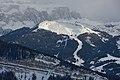 Ciampinoi and the Saslong downhill race track.jpg