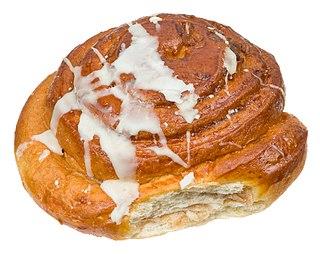 Cinnamon roll sweet food pastry