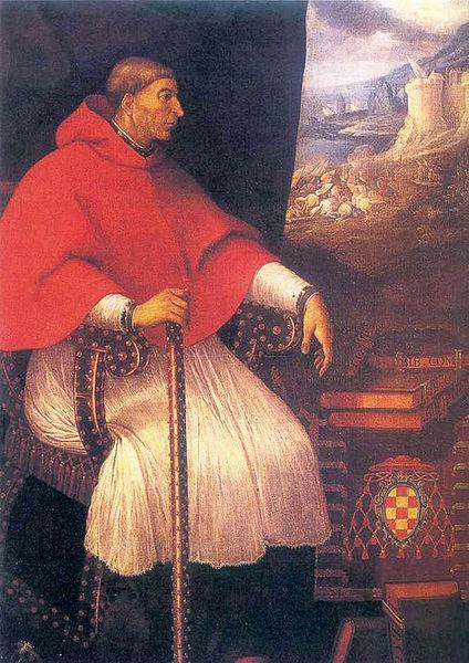 El Cardenal Cisneros por Eugenio Cajés.