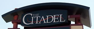 The Citadel (mall) - Image: Citadel logo