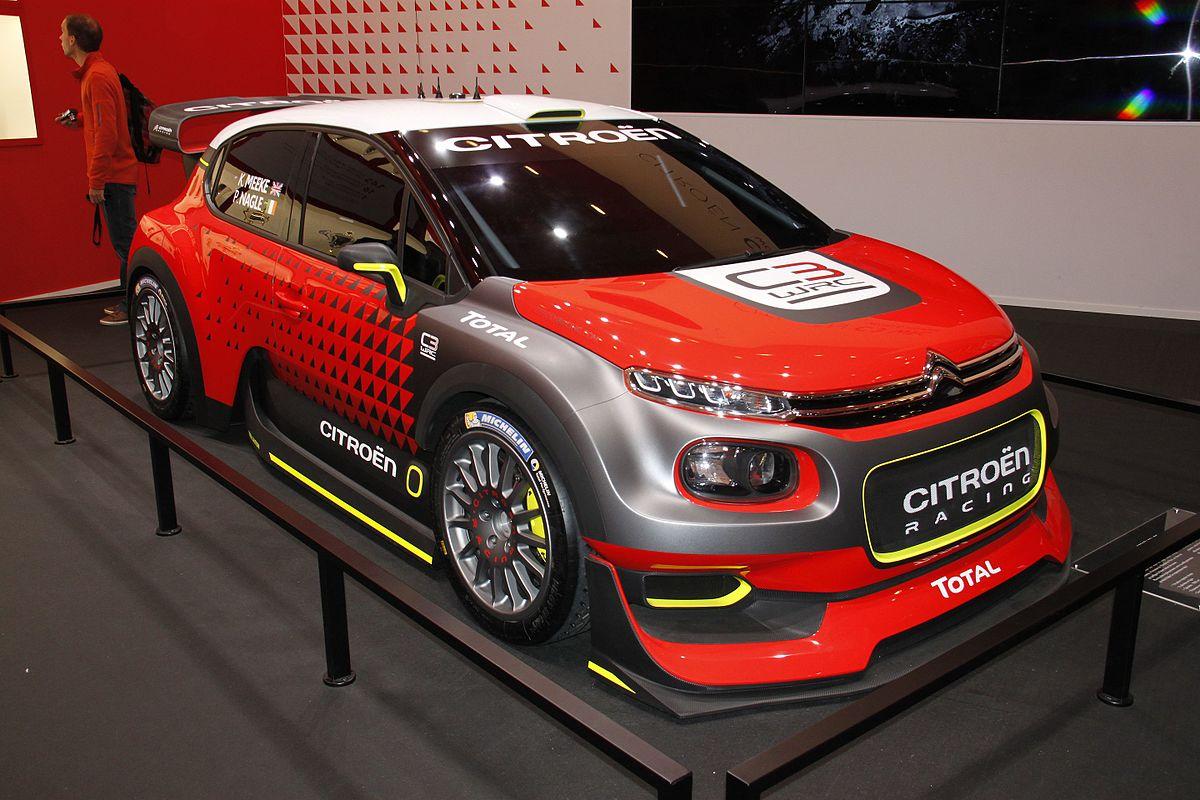 Ford Focus 2017 Custom >> Citroën C3 WRC - Wikipedia