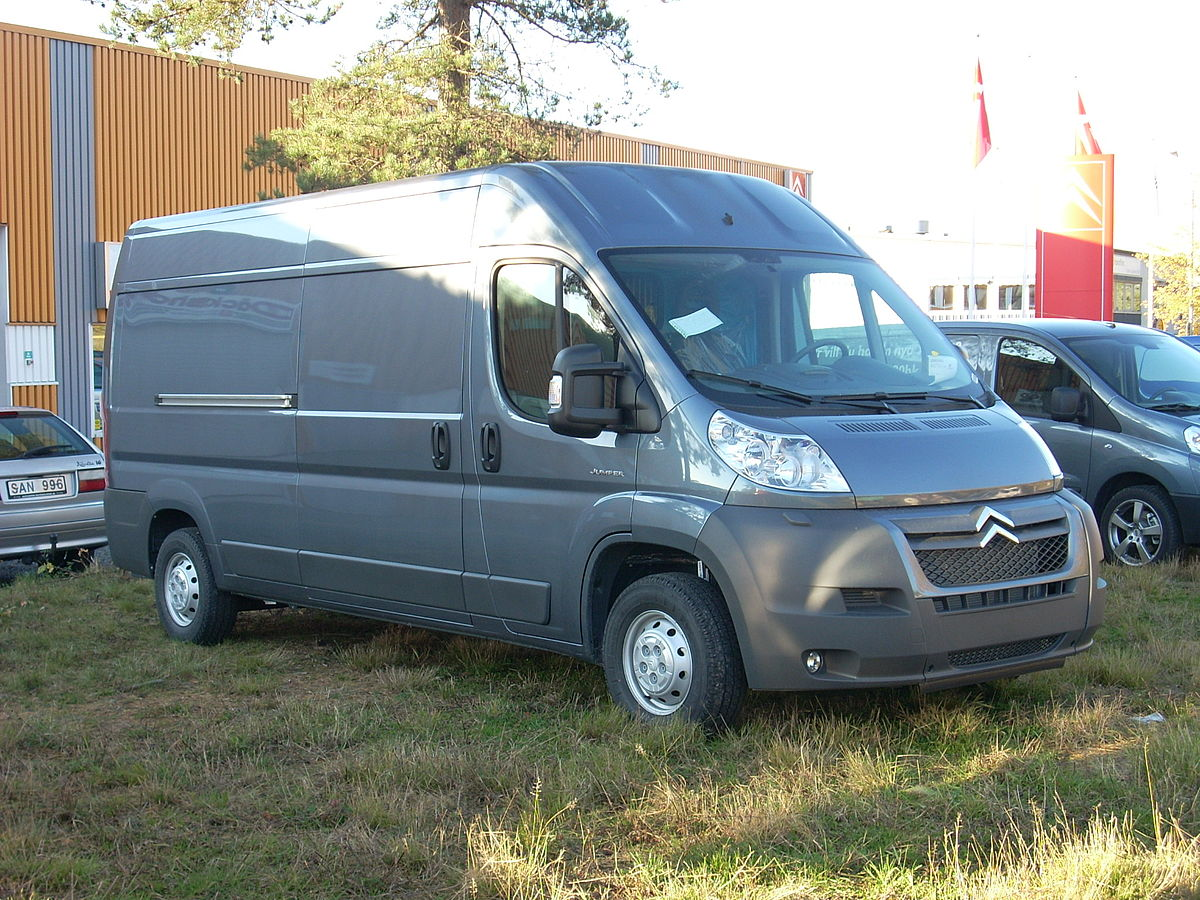 Ford Transit Van >> Citroën Jumper – Wikipedia