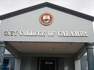City College of Calamba - Facade