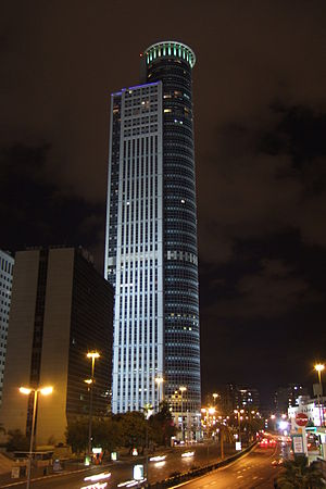 Moshe Aviv Tower - Image: City Gate Ramat Gan 2008