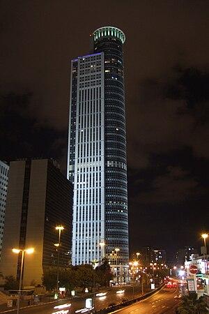 Moshe Aviv Tower - Image: City Gate Ramat Gan 2008