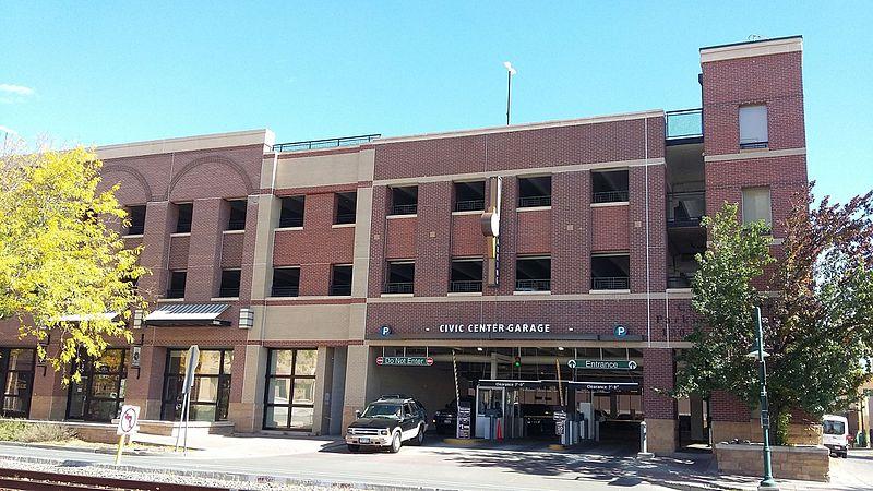 Civic Center Garage: File:Civic Center Garage, Fort Collins.jpg