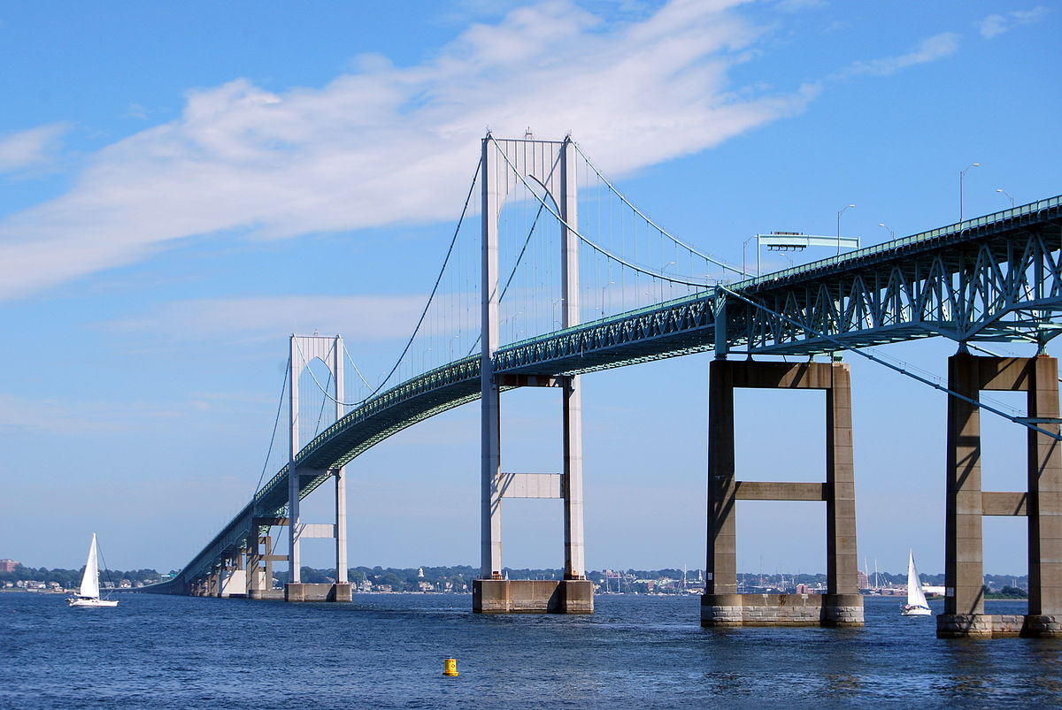 Claiborne Pell Newport Bridge - Wikipedia