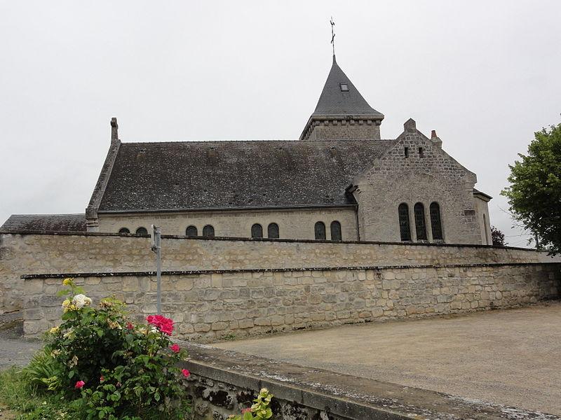 Clamecy (Aisne) église Saint-Gui