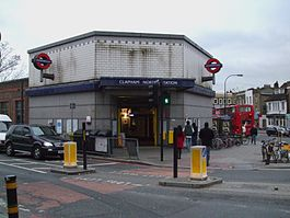Clapham North stn entrance.JPG