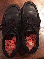 Clarks Boys School Shoes Black