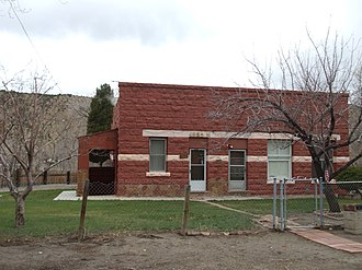 National Register of Historic Places listings in Carbon County, Utah - Image: Clerico Building Spring Glen Utah