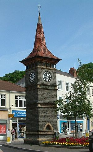 Clock Tower, Clevedon - Image: Clevedon clock tower