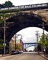Cleveland Bridges in the Flats (9231288521).jpg